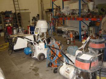 Подготовка на основи: песъкоструене, хидропесъкоструене, хидробластиране