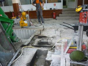 Разпробиване на бетон
