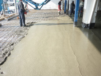 Изграждане на индустриални бетонови подове