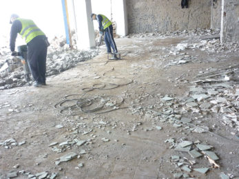 Ръчно къртене на бетони, зидарии и др