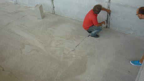 Инжектиране на бетонови елементи и резервоари в ПСОВ, кърджали, 2015 г.