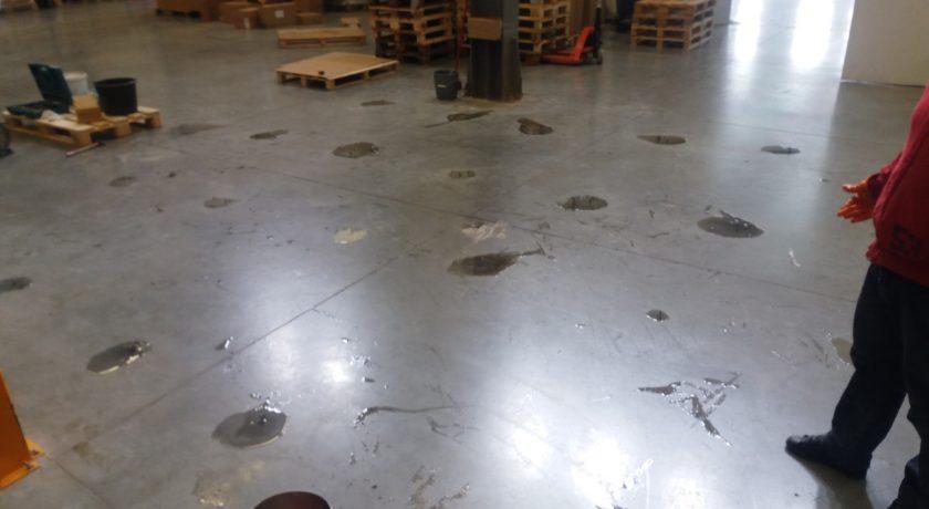 Инжектиране – бетонов под
