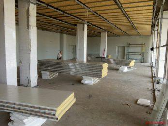 Цялостно изграждане на индустриални сгради