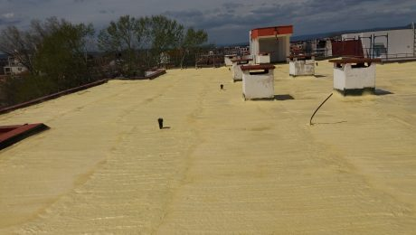 Топлоизолация и хидроизолация на покрив
