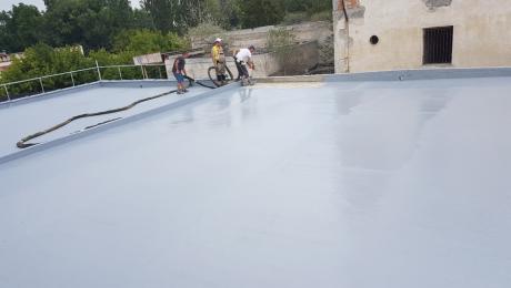 Хидроизолиране на покривна тераса