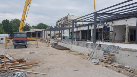 Реконструкция и изграждане на сграда