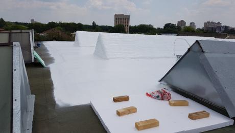 Топло + хидро покривна изолации
