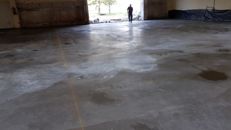 Индустриални бетонови подове с повърхностен уякчител
